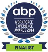 The Association for Business Psychology WorkForce Experience Awards fINALIST